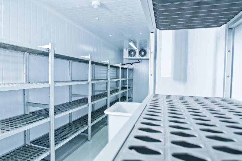 Climatisation industrielle : armoires à froid et chambres froides